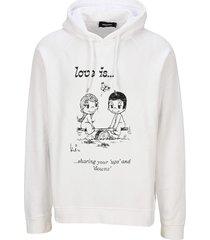 d squared love is hoodie