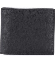 valextra smooth square wallet - black