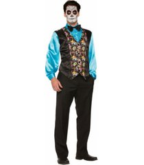 buyseasons day of the dead vest adult costume