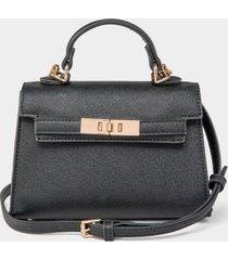 briar mini satchel - black