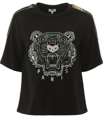 kenzo tiger embroidery top