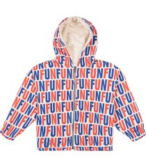 fun all over hooded sweatshirt hoodie trui multi/patroon bobo choses