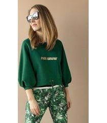 bluza mon amour green