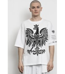 t-shirt eagle oversized tee