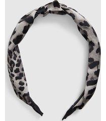 lane bryant women's white leopard print headband onesz snow leopard print
