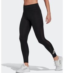 legging adidas designed to move big logo preta feminina