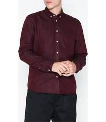 tailored originals shirt - new london skjortor russet