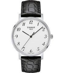 reloj tissot t-classic everytime t109.410.16.032.00 unisex