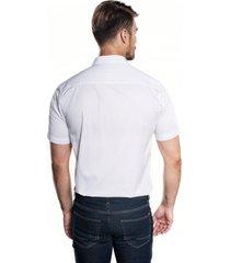 koszula bexley 2363/1 krótki rękaw custom fit róż