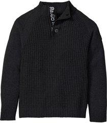maglione con cotone riciclato (nero) - rainbow