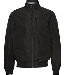 casual blous bomberjacka jacka svart tom tailor