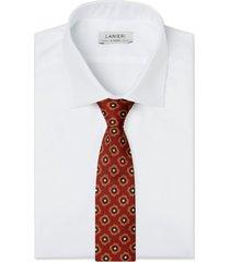 cravatta su misura, lanieri, medaglia ruggine, quattro stagioni | lanieri