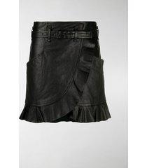 isabel marant étoile qing wrap-style skirt