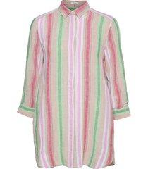 blouse 3/4-sleeve blus långärmad rosa gerry weber edition