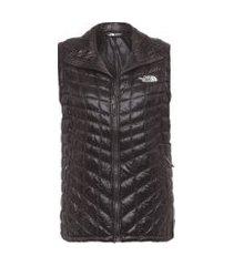 colete feminino w thermoball vest - preto