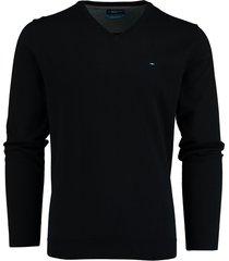 bos bright blue pullover v-hals donkerblauw 20305vi01bo/290 navy