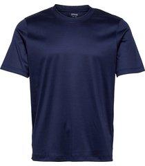 men's shirt: casual jersey t-shirts short-sleeved blå eton