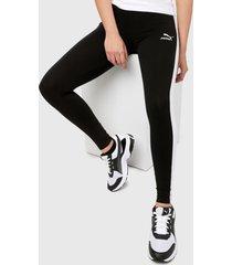 leggings negro-blanco puma clásicos t7