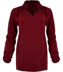 blouse maicazz mackenzy wine red wi19.20.001