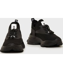 steve madden match sneaker slip-on black