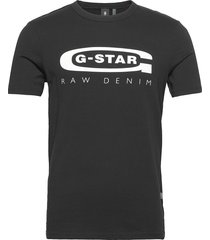 graphic 4 slim r t s\s t-shirts short-sleeved svart g-star raw