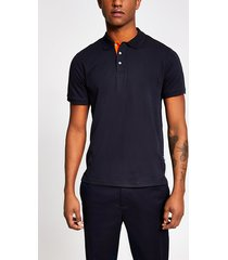 mens navy only and sons polo t-shirt