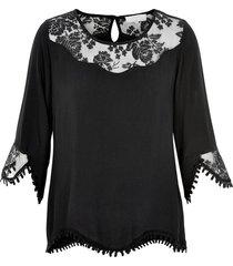 cream kalanie blouse 10601772