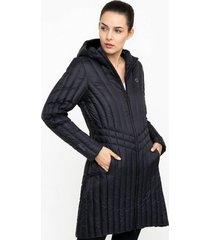 abrigo mujer sigrid negro doite