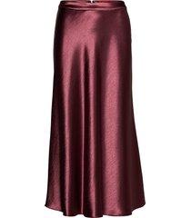 racela-1 knälång kjol röd hugo
