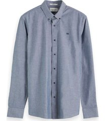 washed chambray shirt regular fit