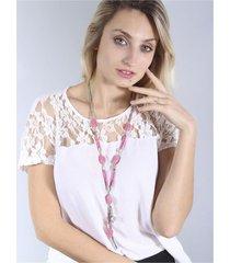 collar rosa spiga 31