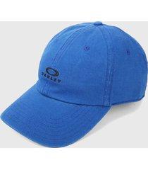 gorra azul-negro oakley dad ellipse