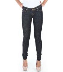 skinny jeans lee spodnie toxey rinse deluxe l527sv45