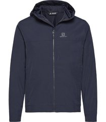 explore wp jkt m outerwear sport jackets blauw salomon