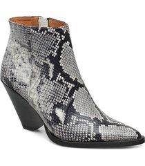 dallas boots shoes boots ankle boots ankle boot - heel multi/mönstrad twist & tango