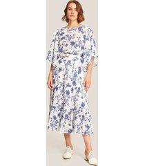 falda blanco-azul patprimo
