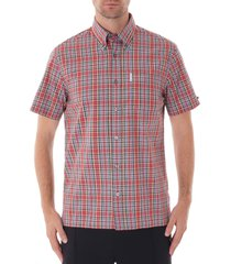 ben sherman archive check shirt | red | 55918-550 ss