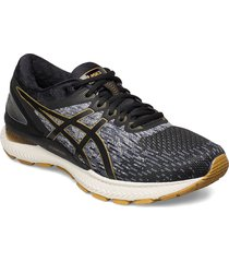 gel-nimbus 22 knit shoes sport shoes running shoes svart asics
