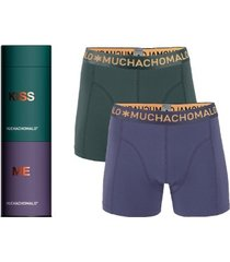 muchachomalo 2 stuks cotton stretch boxer gift box * gratis verzending *