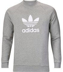 sweatshirt trefoil warm-up crew