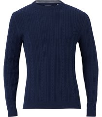tröja onsrige 12 thin cable crew neck knit