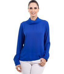 blusa love poetry royal