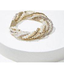 loft pearlized multistrand bracelet