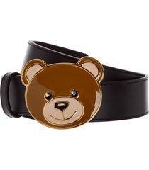 cintura donna vera pelle teddy bear