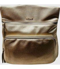 mochila eva dorado lilas carteras