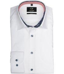 commander overhemd wit slim fit 213010088/100