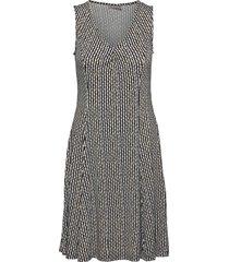 framdot 3 dress knälång klänning svart fransa