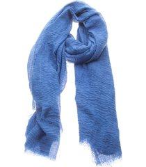 pañuelo liso azul humana
