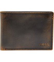 fossile men's wade rfid leather wallet
