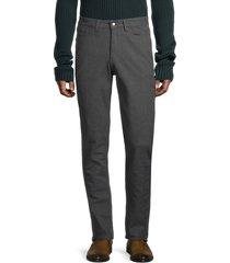ben sherman men's slim straight five-pocket pants - odyssey grey - size 36 32